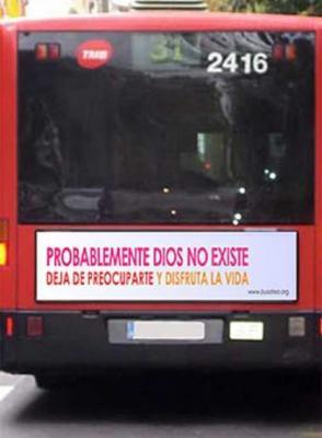 """""""La polèmica sobre la religió també viatga en autobús"""""""